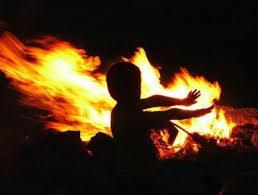 пожар и дети