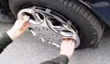 кража колес