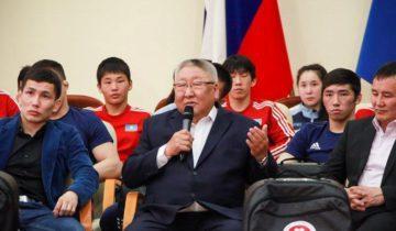 Борисов Егор и спортсмены