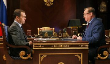 Медведев и Степашин