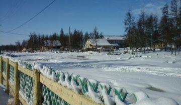 Сегодняшнее утро  в селе Аргахтах Среднеколымского улуса