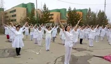 флешмоб медсестры