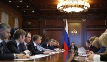 совещание медведев