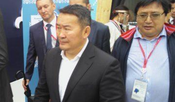 Президент Монголоии