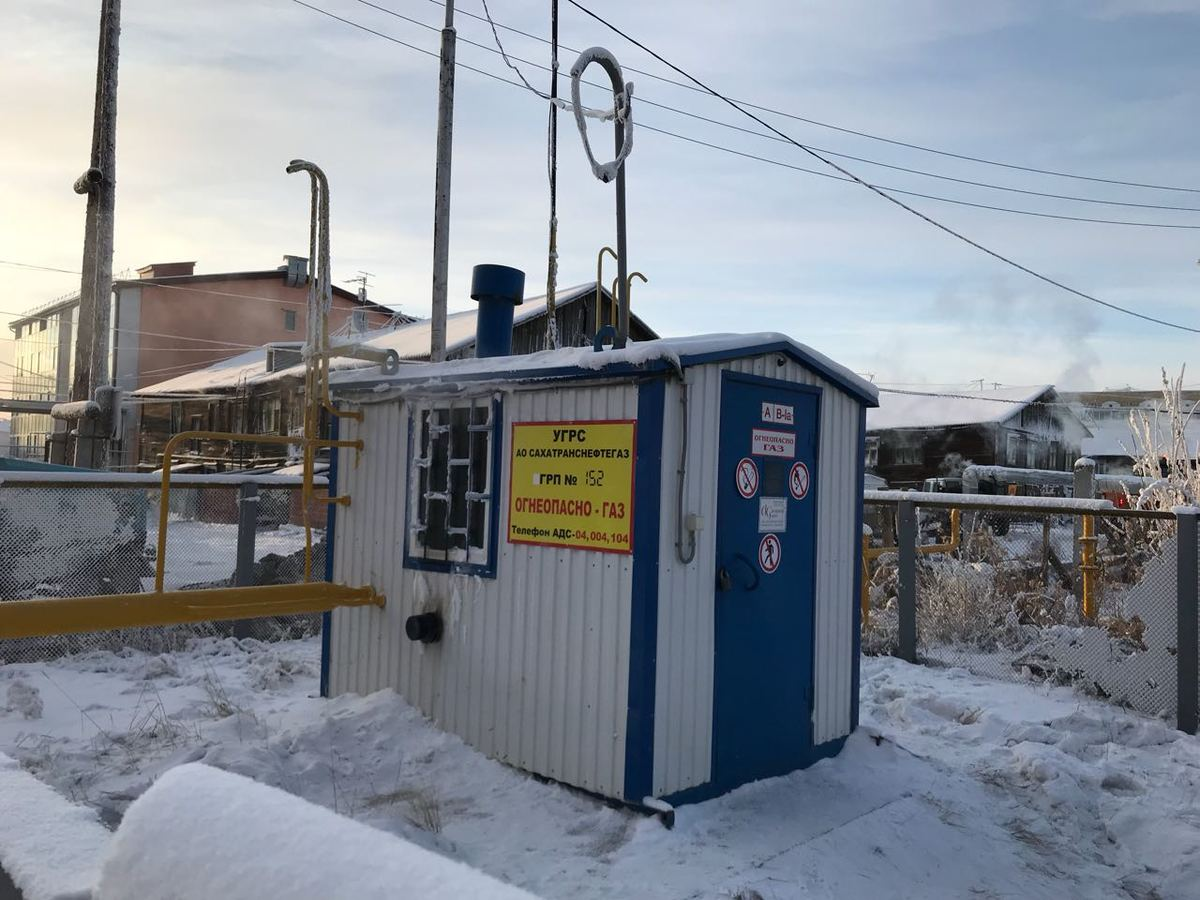 3-3 В Якутске произошла авария на газовой магистрали в районе Строительного рынка