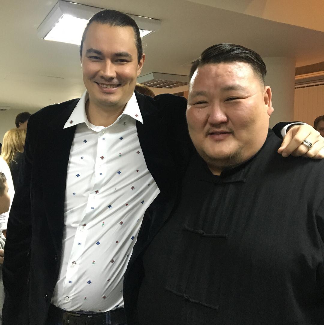 С Жорой Крыжовниковым