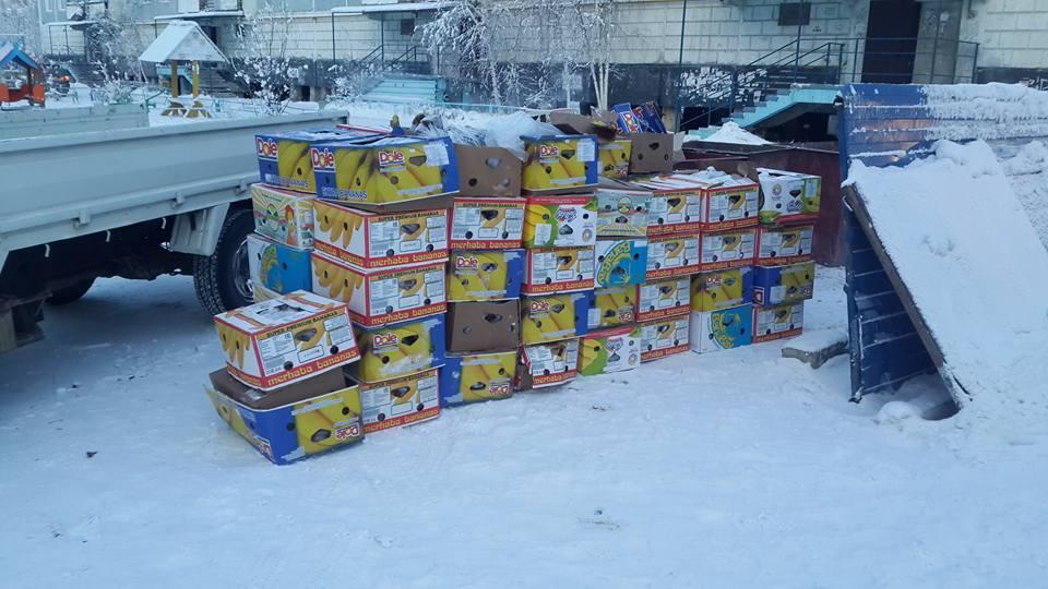 27654869_2027714727483689_968960720605645487_n Антон Васильев раздает бананы, обнаруженные на Зеленом лугу в Якутске