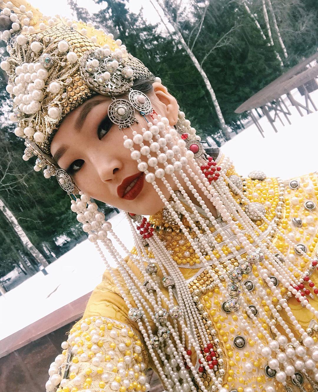 29414874_185257695531075_5459914129215062016_n Участница конкурса красоты «Мисс Россия» из Якутии представила национальный костюм