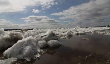 вскрытие рек, ледоход