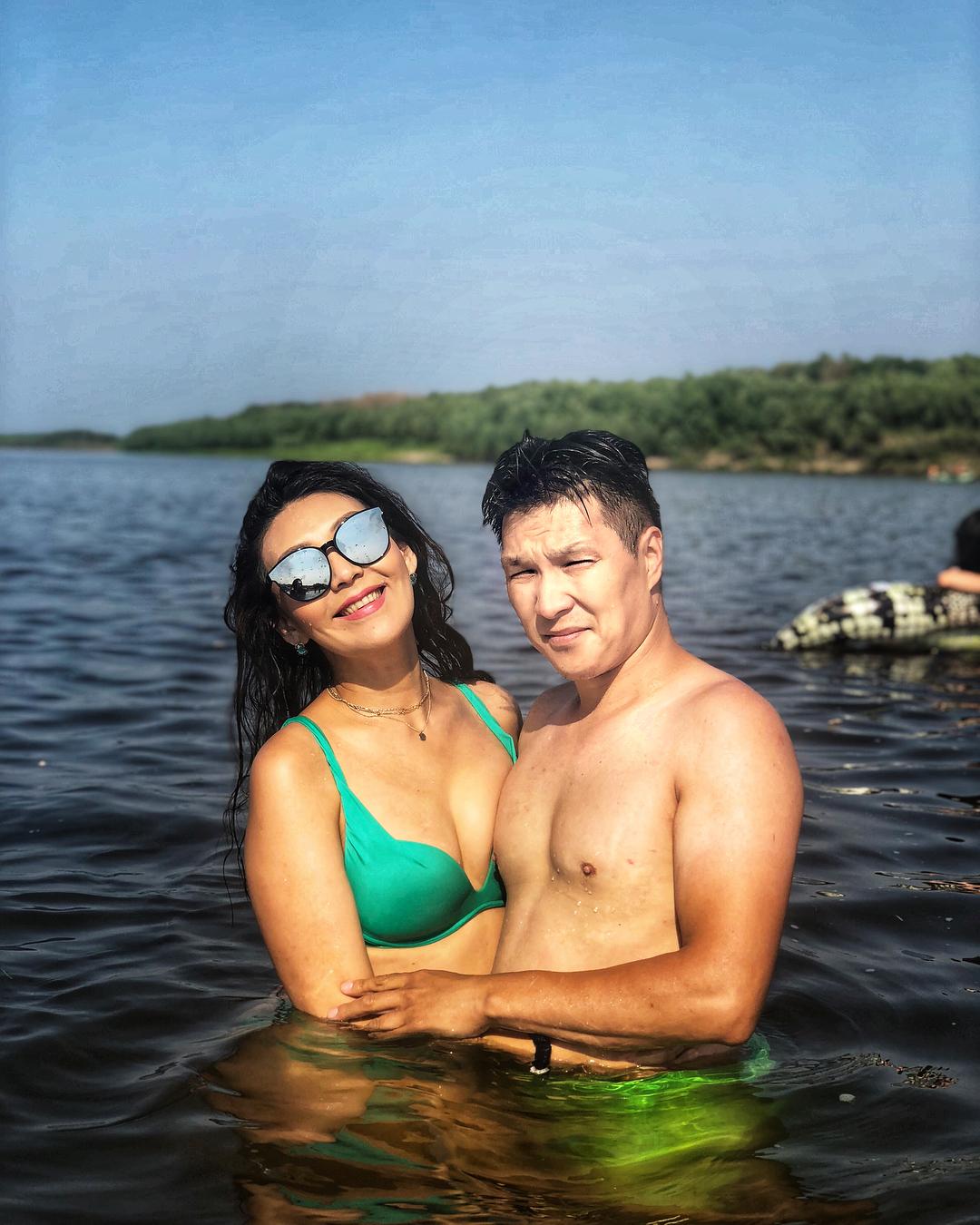 Далана с мужем