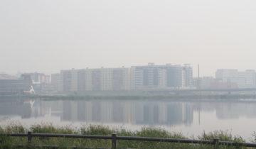 дым в якутске