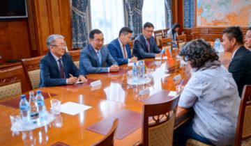 встреча с делегацией Гонконга