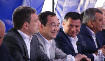 Айсен Николаев, заседание прав. комисси