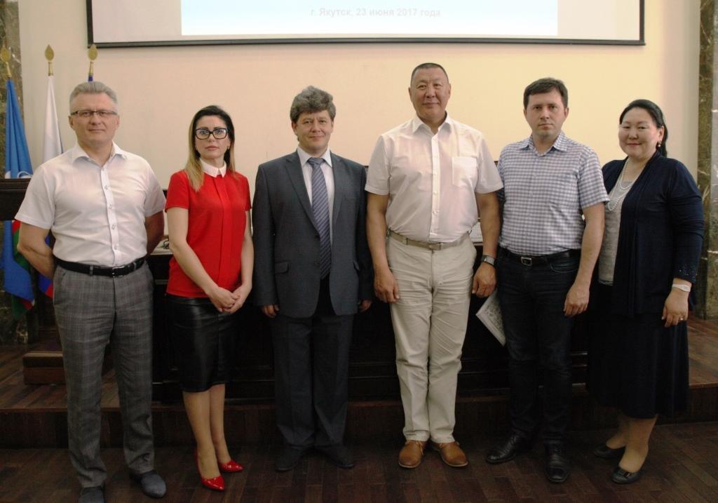 С руководителями региональных отделений ВСМС Дальнего Востока