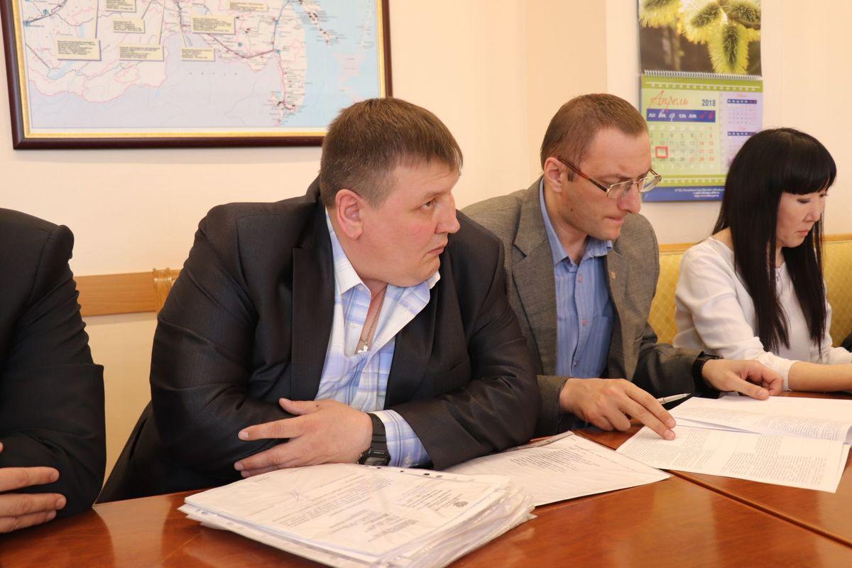 Андрей Холтосунов на одном из совещаний