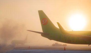 аэропорт якутск, взлетная полоса s7