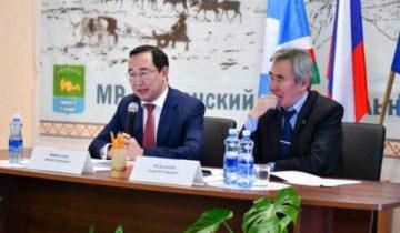 Айсен Николаев, жиганск