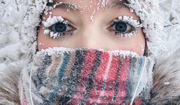 якутия, анастасия груздева, снежное селфи