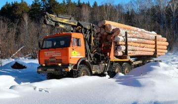лес, вывоз леса