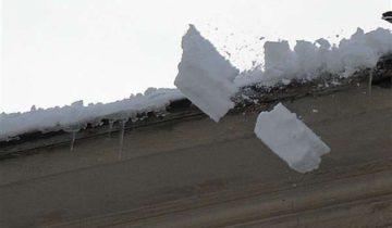 крыша, снег