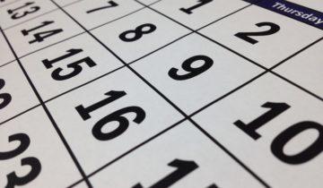 календарь, май