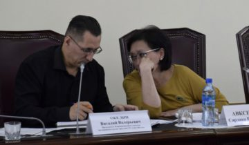 Виталий Обедин и Сардана Авксентьева