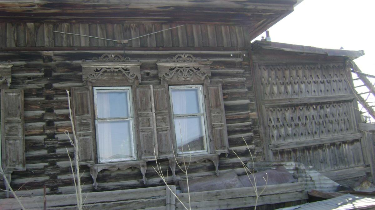 Дом купца Платонова с оригинальной верандой