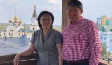 Сардана и Виктор Авксентьевы