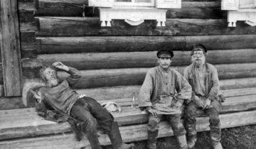 Якутск. У трактира. 1914 г.