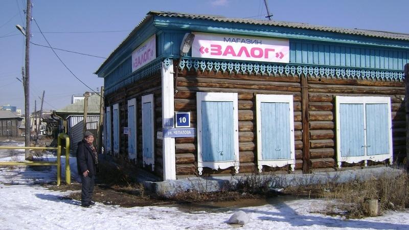 Дом и магазин купца Абрама Мордуховича. Рядом проживал со своей семьей его брат, извозчик Гдаля Борисович.